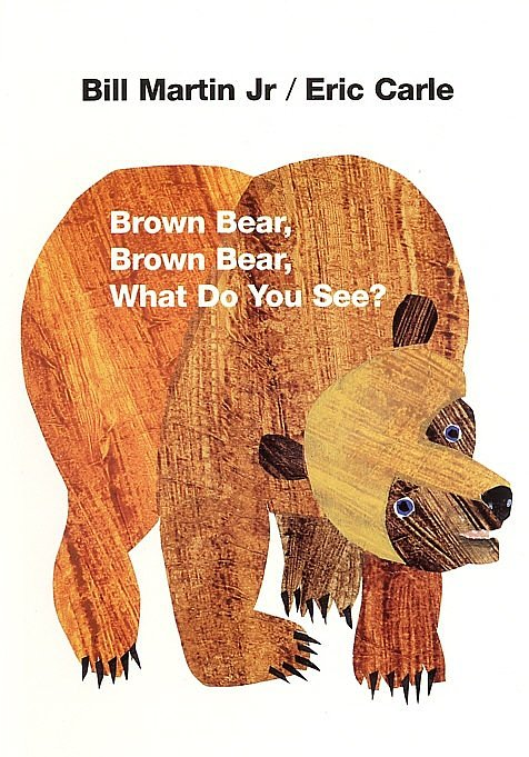 Mini book Brown bear d'Eric Carle