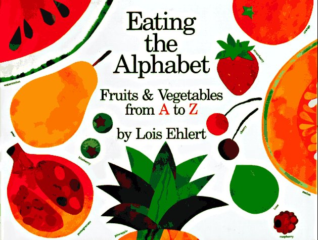 Alphabet book introduces kids to new fruits and vegetables ages 2