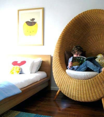 Summer reading challenge week 3 create a reading nook for Sillas para habitaciones