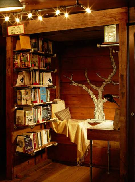Summer reading challenge week 3 create a reading nook delightful children 39 s books - Creating ideal reading nooks ...