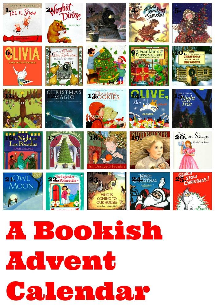 Bookish advent calendar delightful children s books