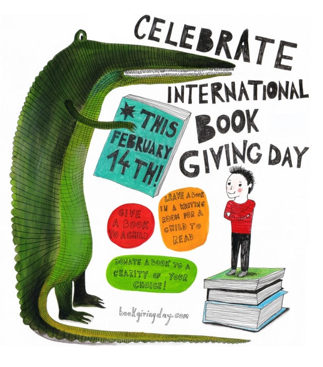 International Book Giving Day 2014 poster