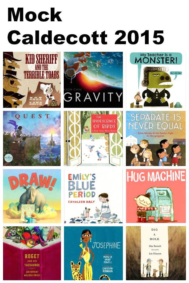 Mock Caldecott 2015: Inspire kids to read by inviting them to choose a Mock Caldecott winner!
