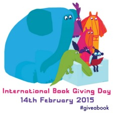 International Book Giving Day 2015 badge