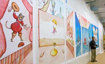 peter sis mural