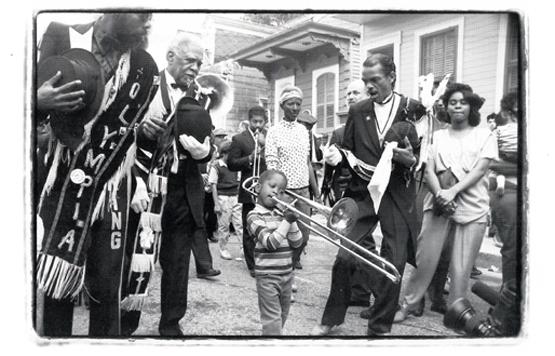 Trombone Shorty - young boy