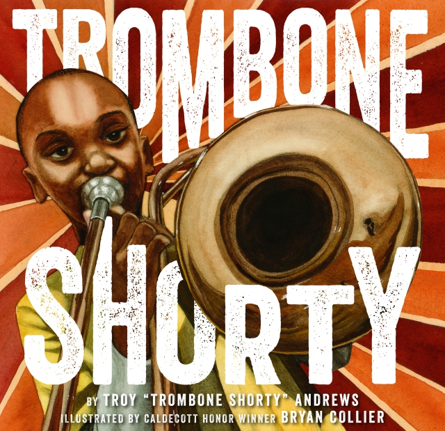 Trombone Shorty by Bryan Collier