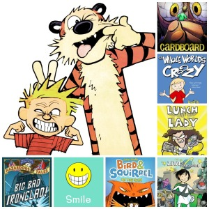 Attn. 4th & 5th grade parents and teachers: An online comics club for kids with weekly book recommendations and Comics Creation Challenges!